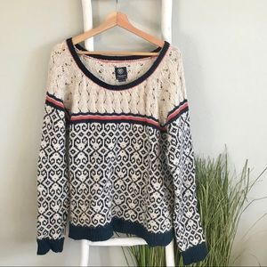 American Eagle | Alpaca Blend Nordic Style Sweater